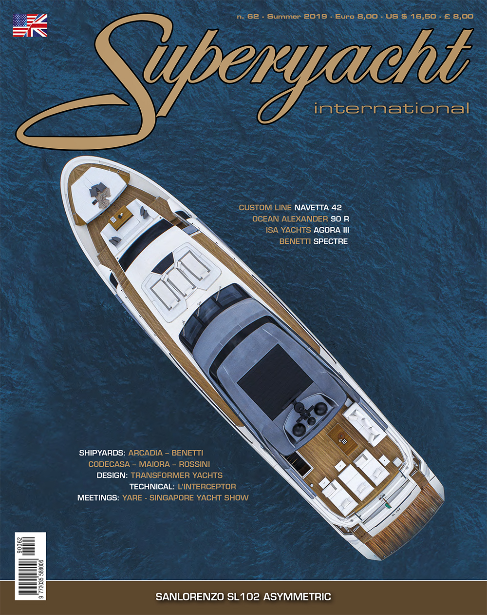 Superyacht - Sea trials, reviews and news from the world of